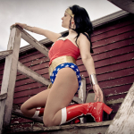 Wonder Woman photoshoot Amber Love