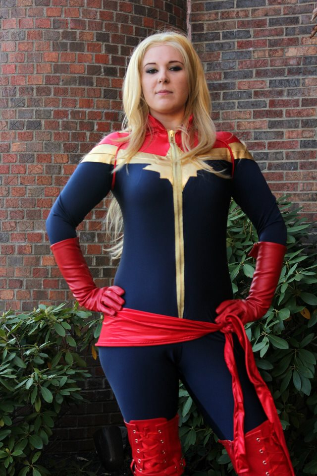 panda captain marvel cosplay