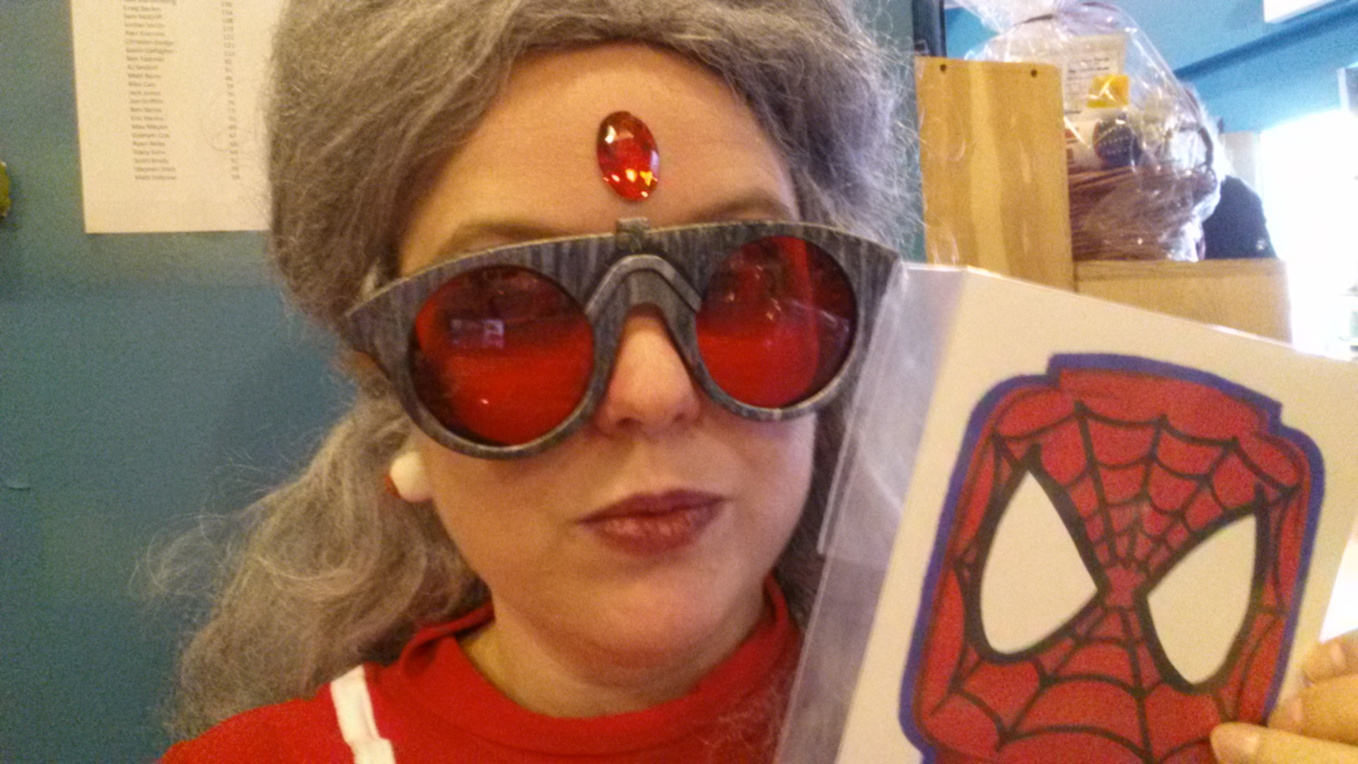 madame web spidervise