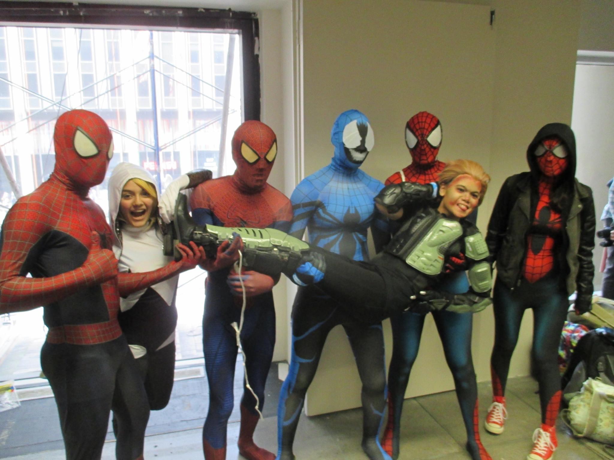 big apple cosplay spiderverse