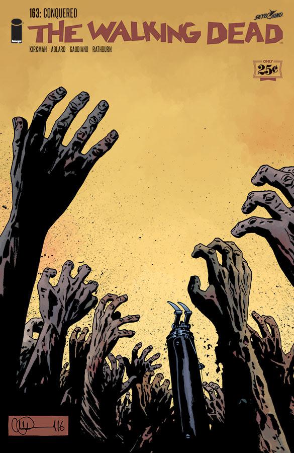 image comics walking dead cover