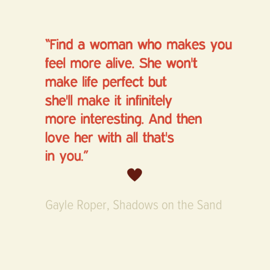 Gayle Roper FindAWoman-quote