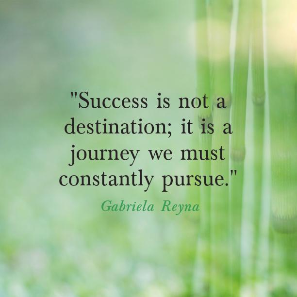 gabriela reyna quote success