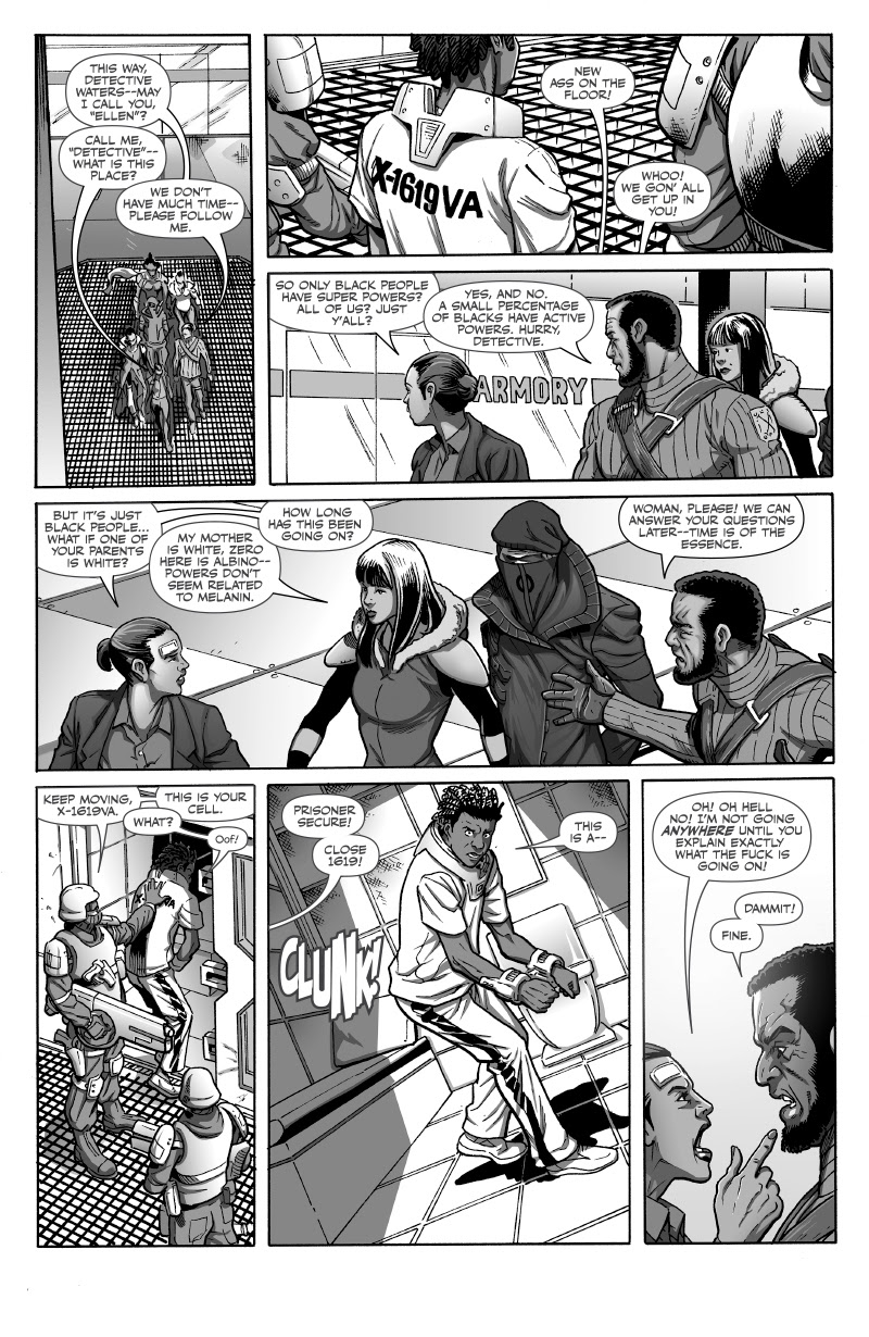 BLACK issue 5 pg 1