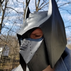 Klingon Batman helmet finished 1