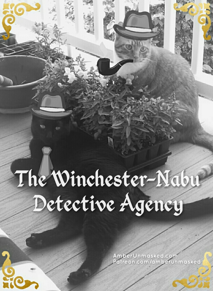 Winchester-Nabu Detective Agency Gus and Ollie