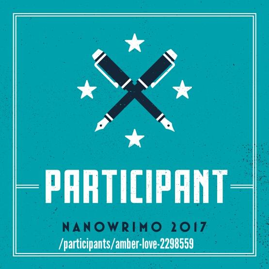 NaNoWriMo participant logo square
