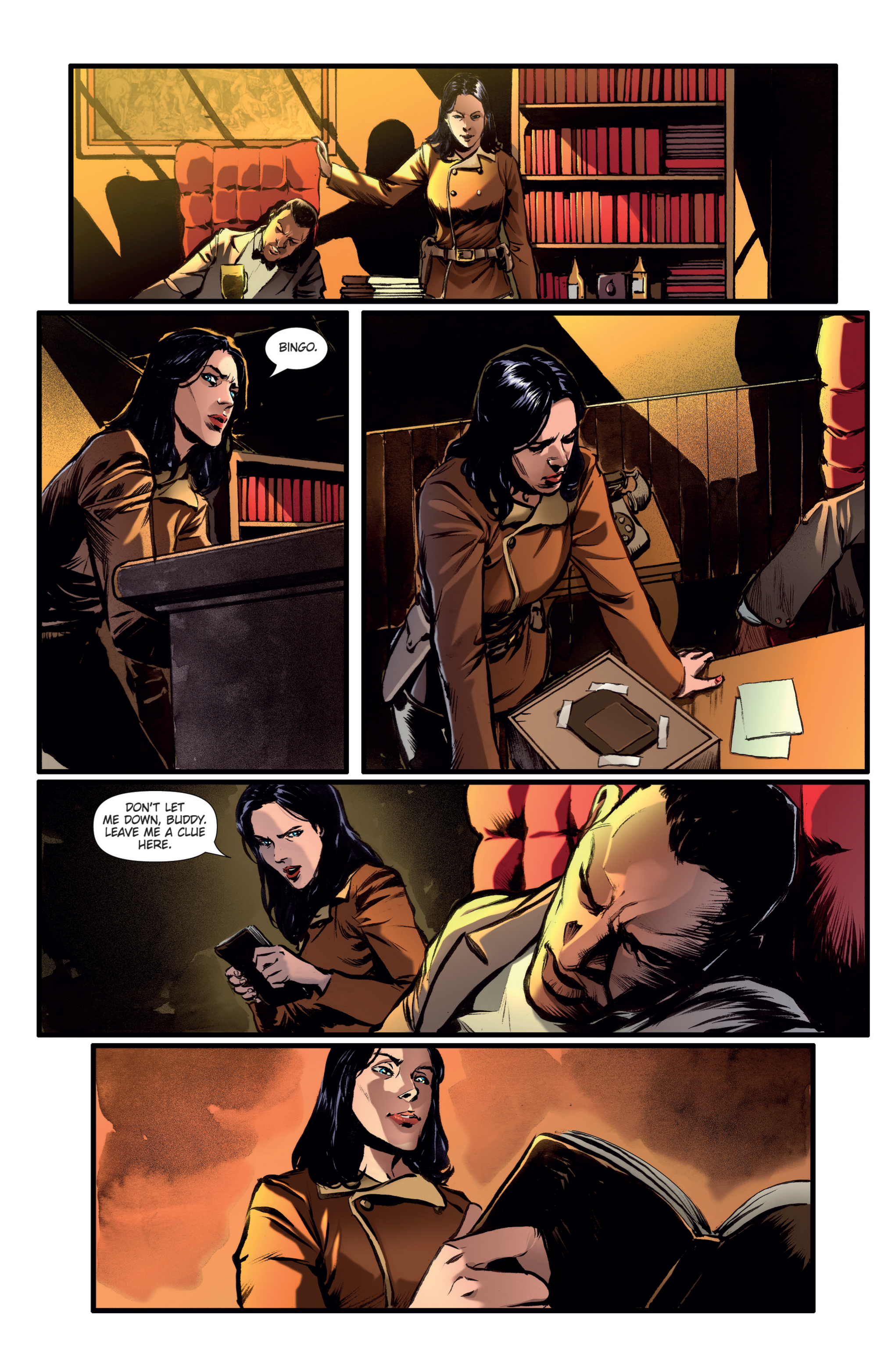 Athena Voltaire and the Golden Dawn TPB Page 10