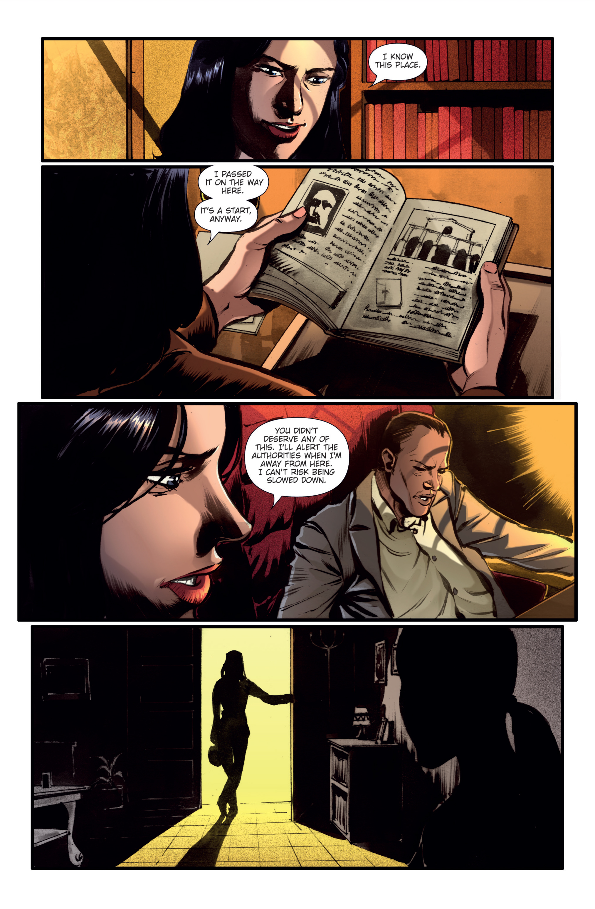 Athena Voltaire and the Golden Dawn TPB Page 11