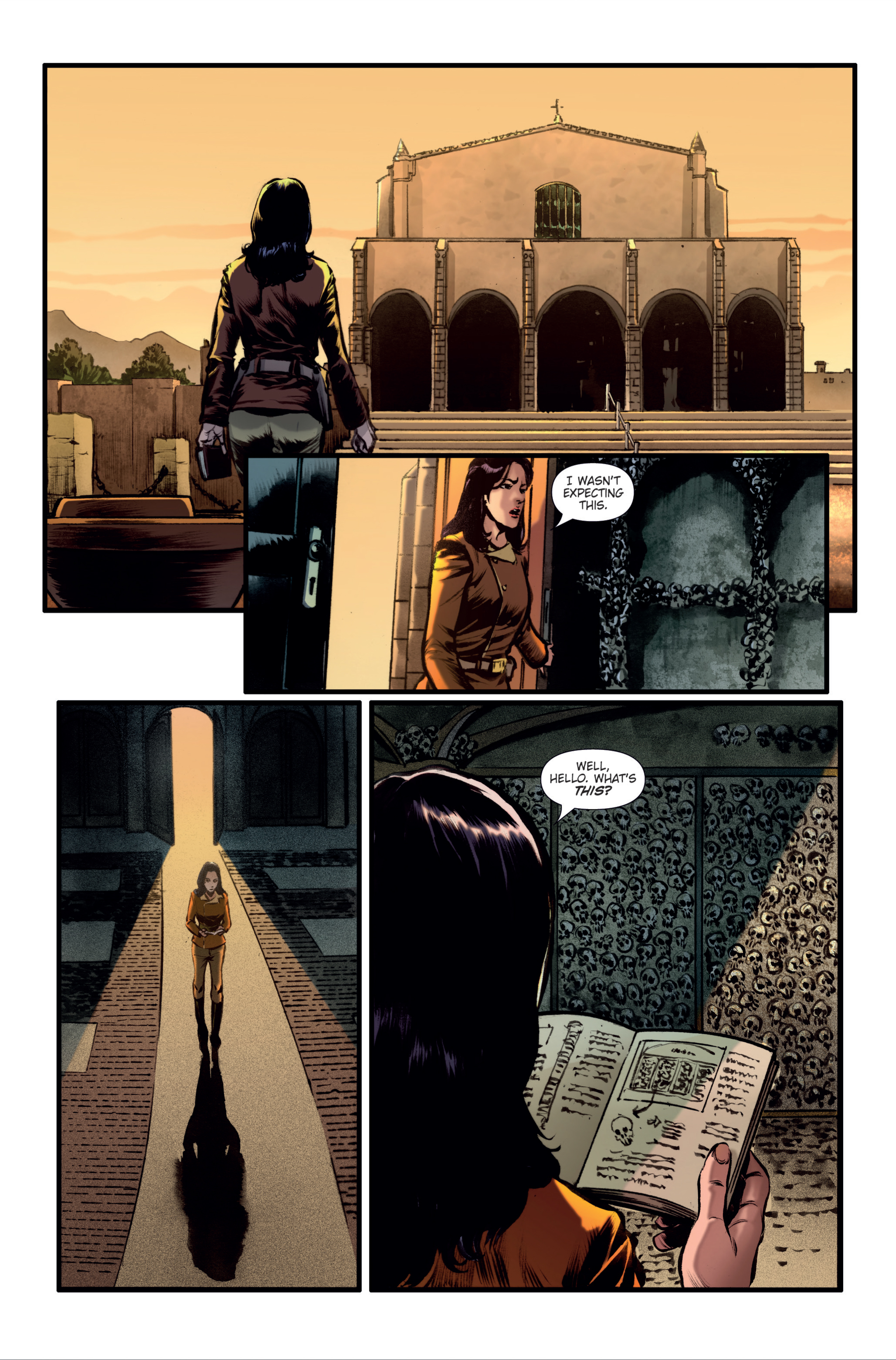 Athena Voltaire and the Golden Dawn TPB Page 12