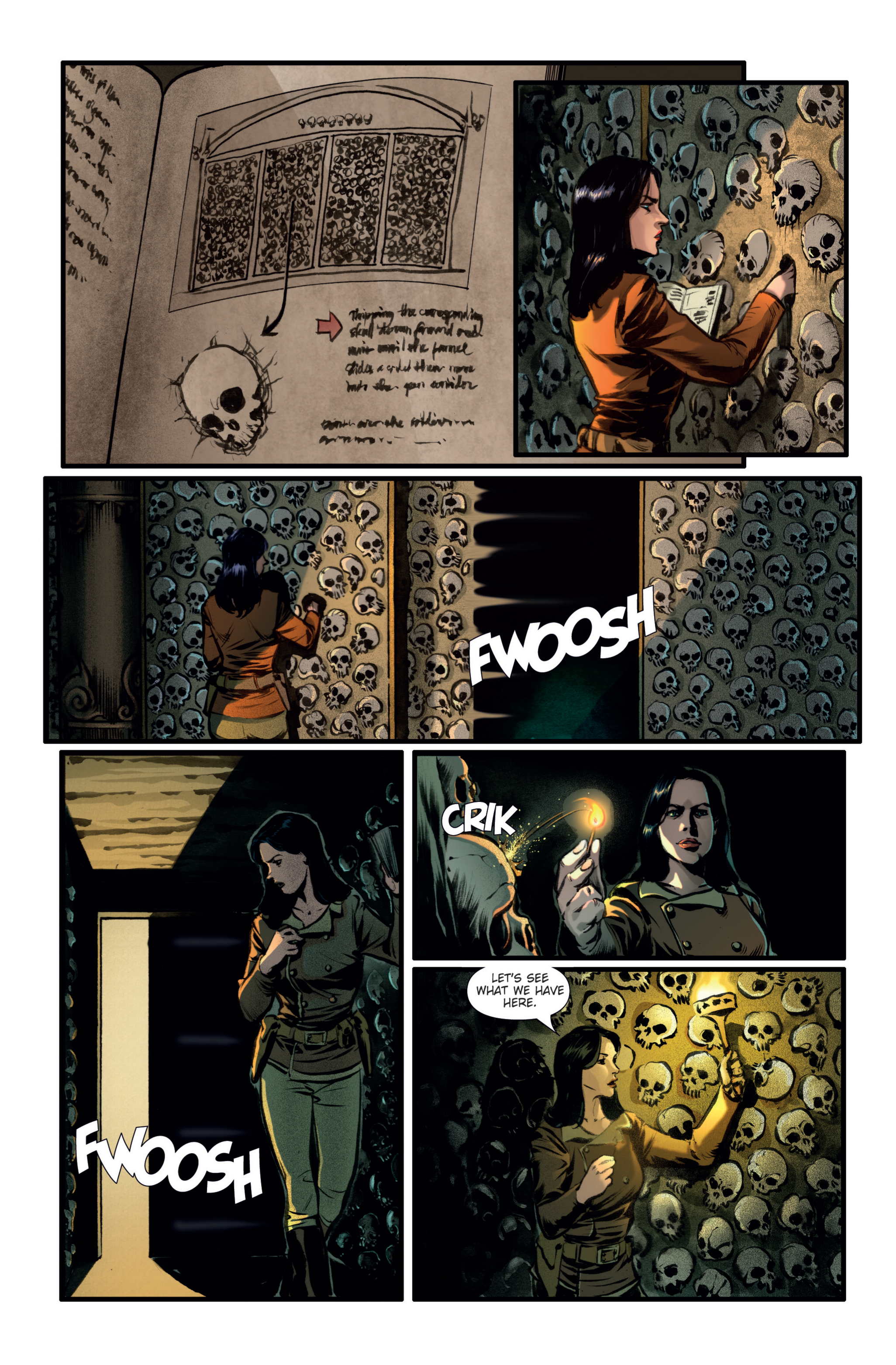 Athena Voltaire and the Golden Dawn TPB Page 13