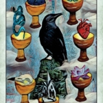 crow tarot 7 of cups