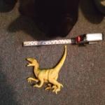 Gus and dinosaur