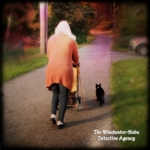 Grandma walking the boys