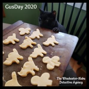 Gus baking