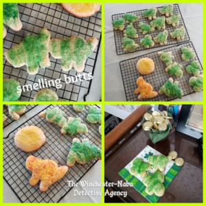 collage of cookies