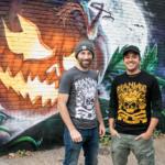 Marc and Chris maniac pumpkins