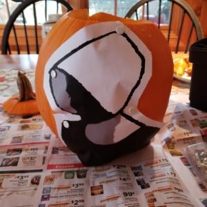 2020 handmaid pumpkin