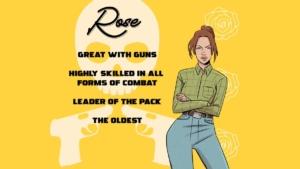 deadliest bouquet Rose info